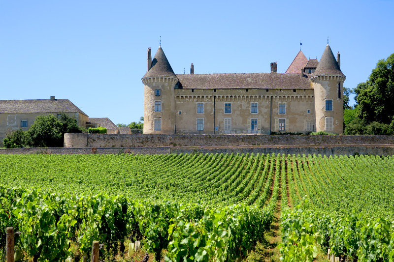Château de Rully - Photo by Hideaway Report editor
