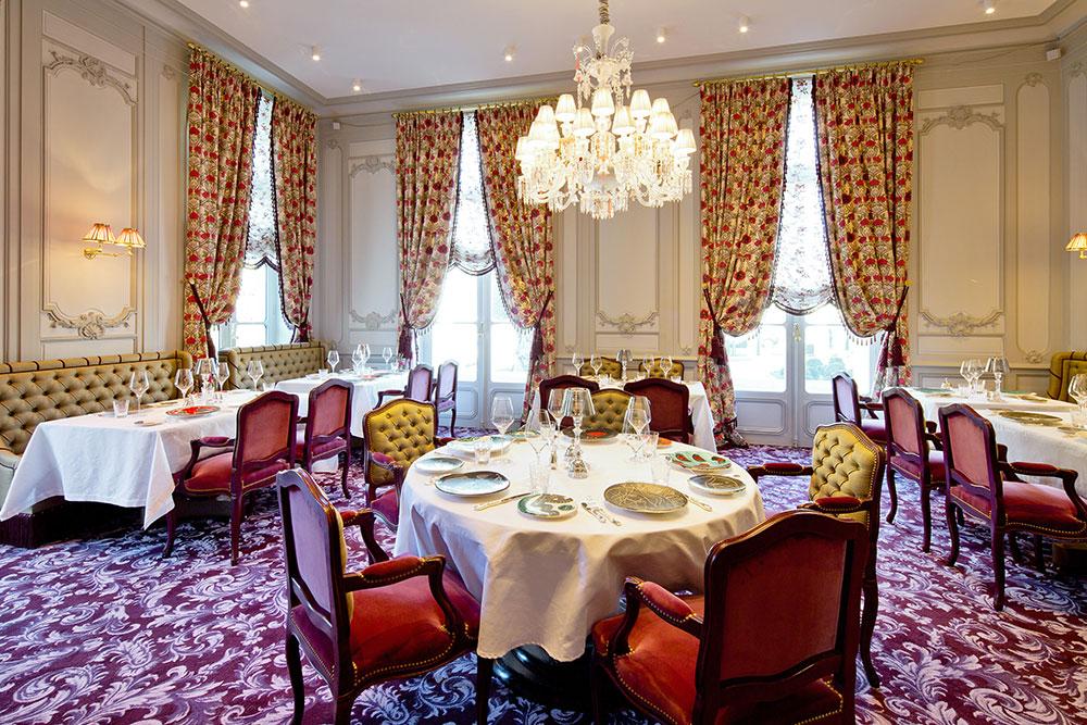 Pierre Gagnaire's restaurant at La Grande Maison
