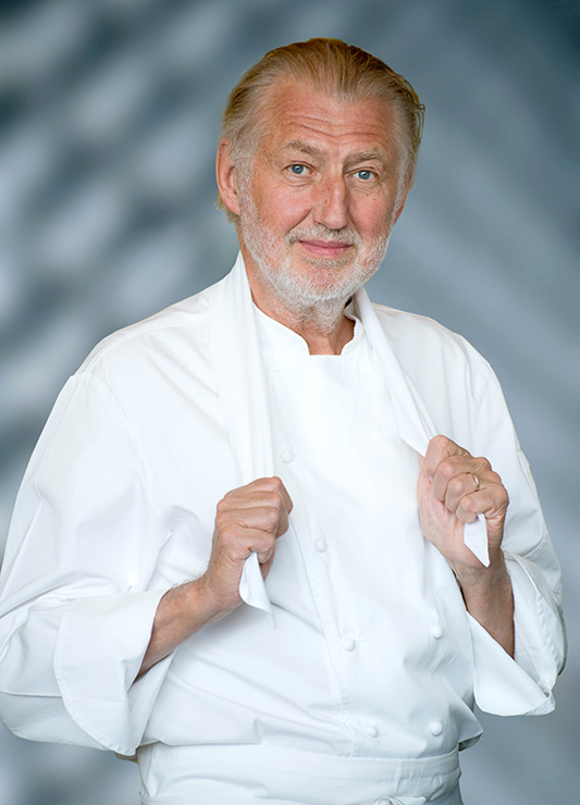 Chef Pierre Gagnaire - by Jacques Gavard