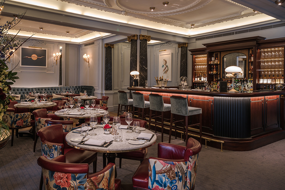 The new restaurant, <em>The Game Bird</em>, at The Stafford London - The Stafford London