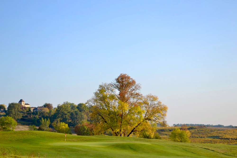 The Grand Saint-Emilionnais Golf CLub in Gardegan-et-Tourtirac, France