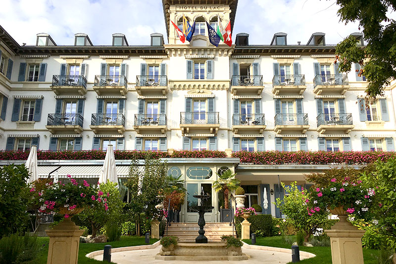 Grand Hôtel du Lac - Photo by Hideaway Report editor