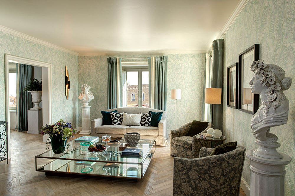 A Grand View Suite at the Hotel Savoy
