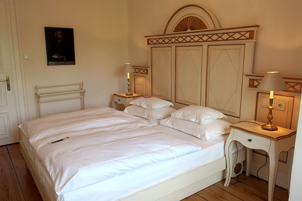 Our C. G. Haase Suite at Palais Esplanade - Photo by Hideaway Report editor