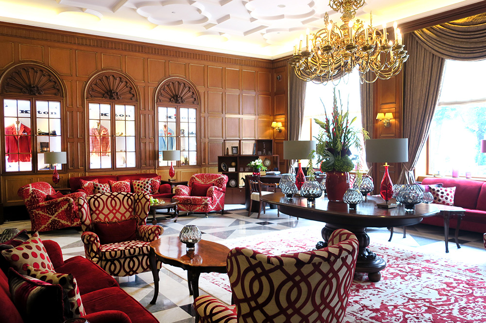 The club lounge at The Westin Hamburg - Photo by Hideaway Report editor
