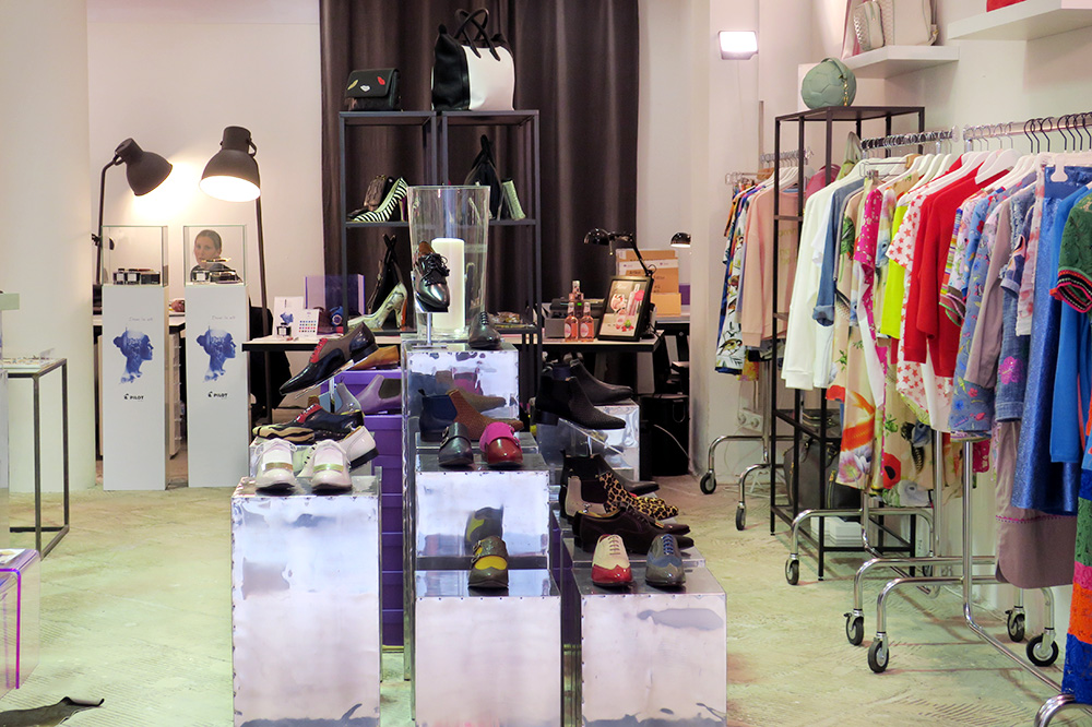 Concept Store in the Kaufmannshaus passage