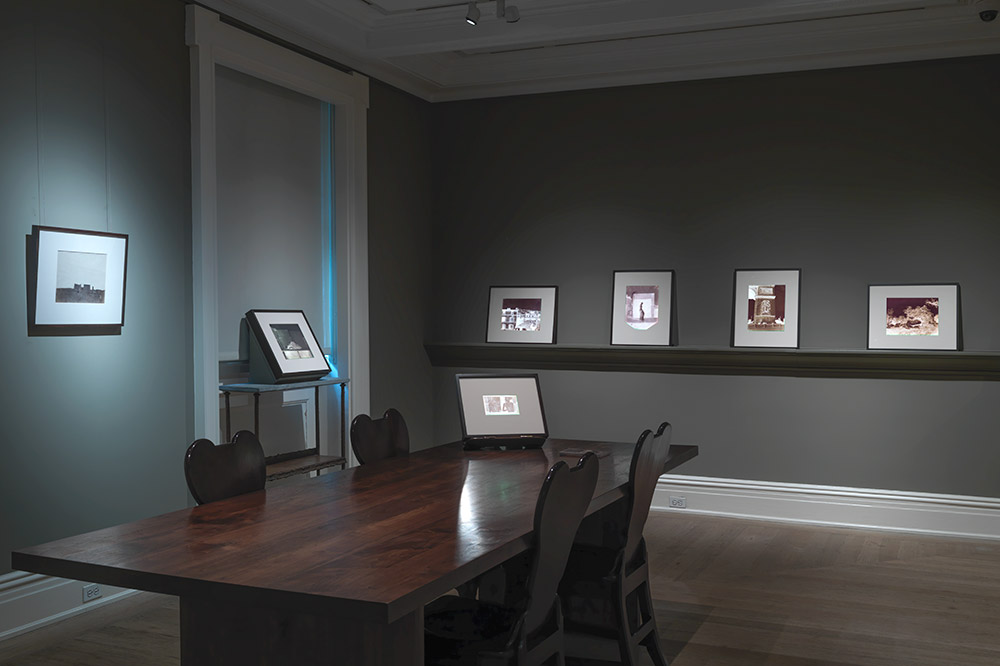 An exhibit at Hans P. Kraus Jr. Fine Photographs