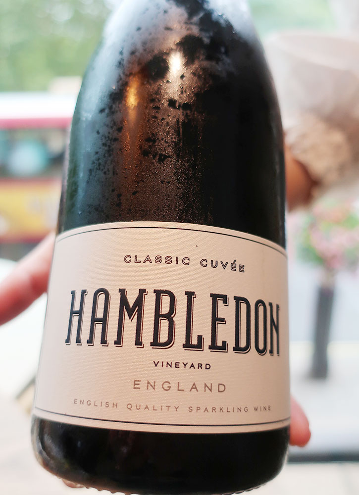 Hambledon Classic Cuvée from Hide in London - Photo by Hideaway Report editor