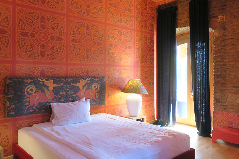 Our Orange Room at Hotel Erekle II