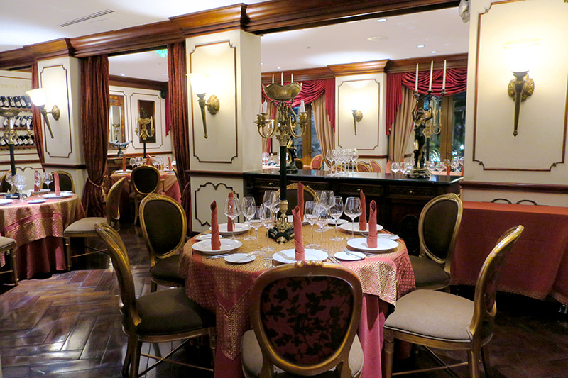 <em>La Belle Epoque</em> restaurant at Hotel Plaza Grande - Photo by Hideaway Report editor