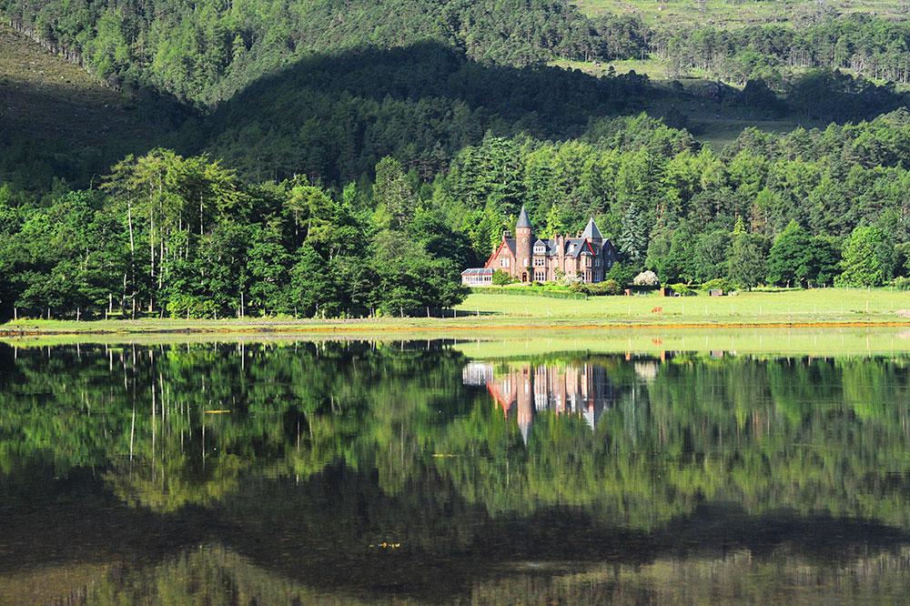 The Torridon hotel in Highlands (West) in Scotland - The Torridon