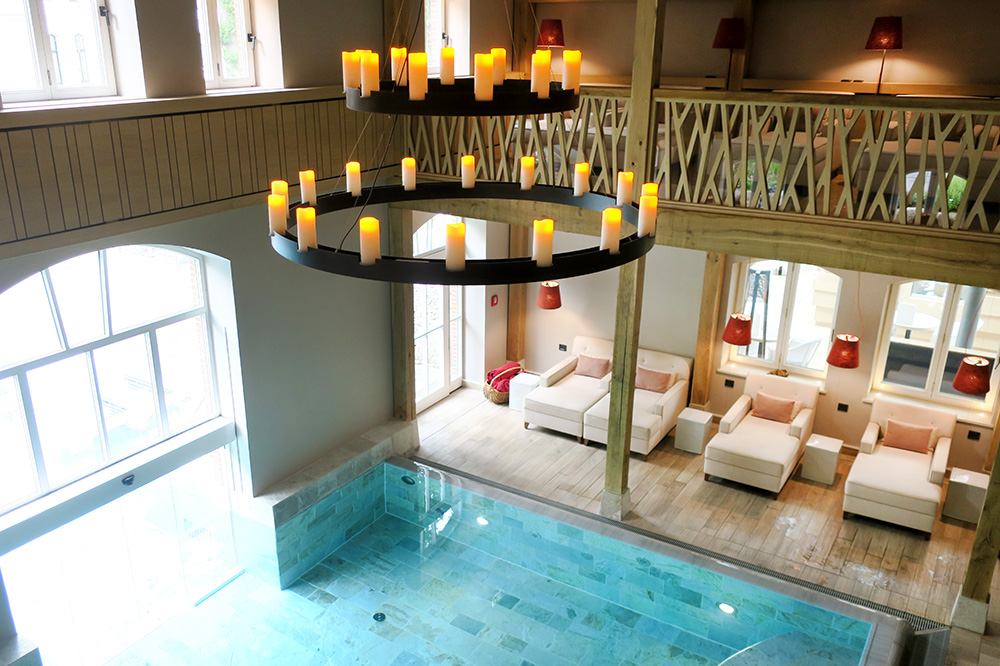 The spa pool at The Westin Hamburg in Hamburg, Germany
