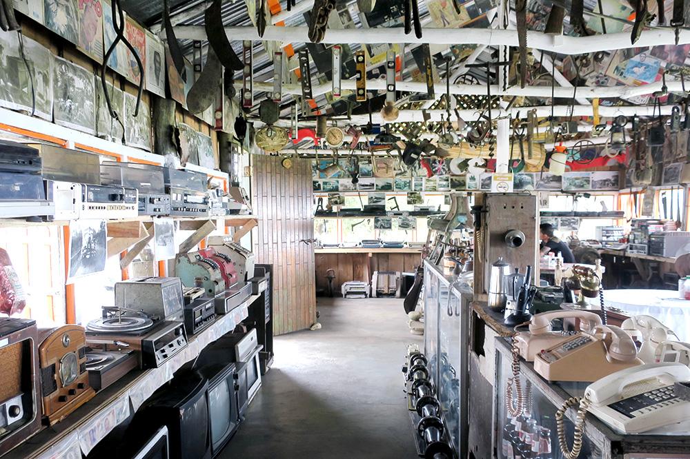 The interior of <em>La Corronga</em> café in Pérez Zeledón, Costa Rica