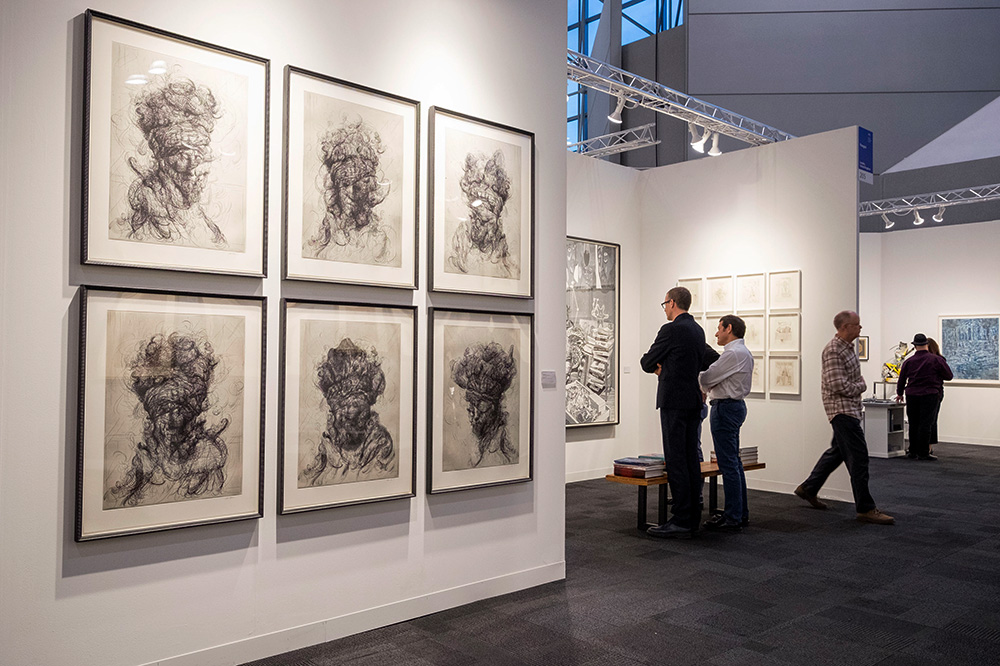 The International Fine Print Dealers Association Print Fair in New York City