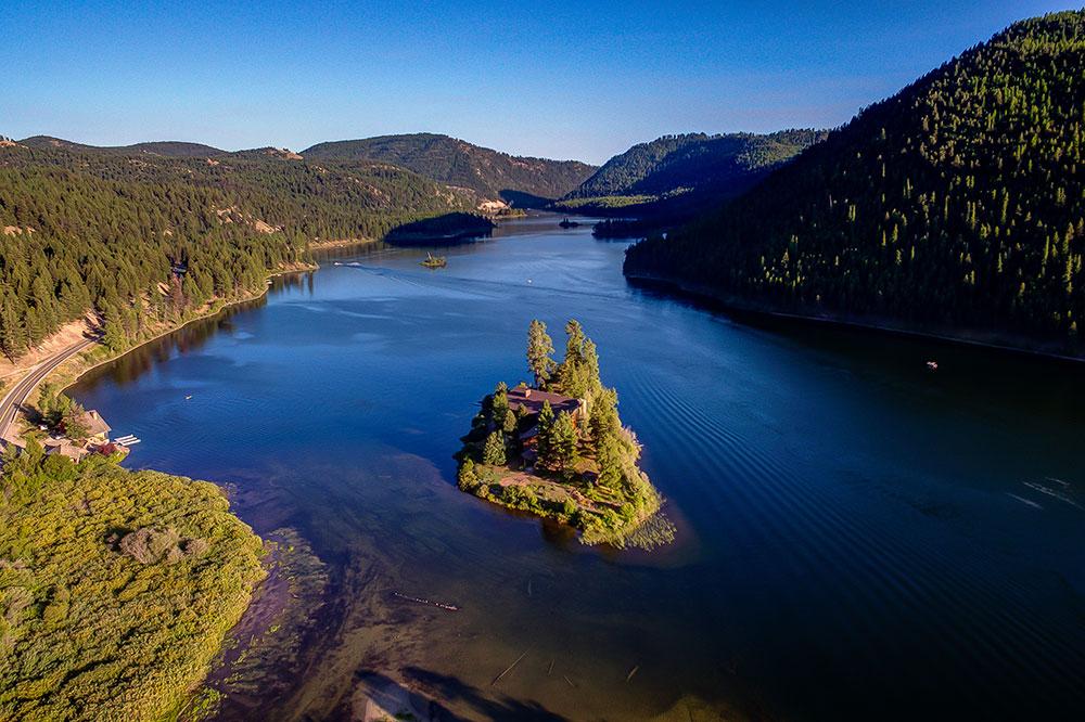 The Resort at Paws Up's new Island Lodge at Salmon Lake