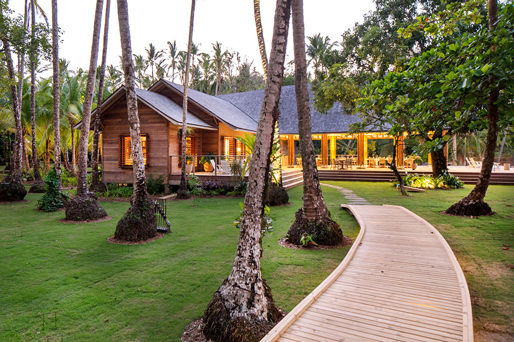 A casita at Islas Secas Reserve & Lodge in Islas Secas, off the coast of Panama