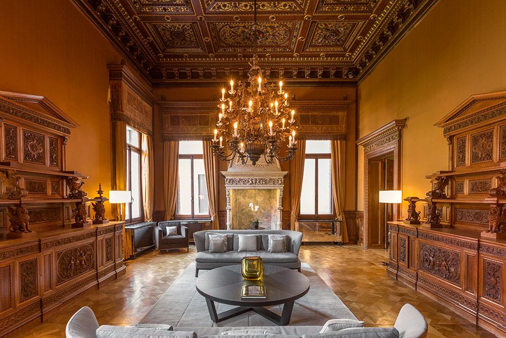 Lounge at Aman Venice