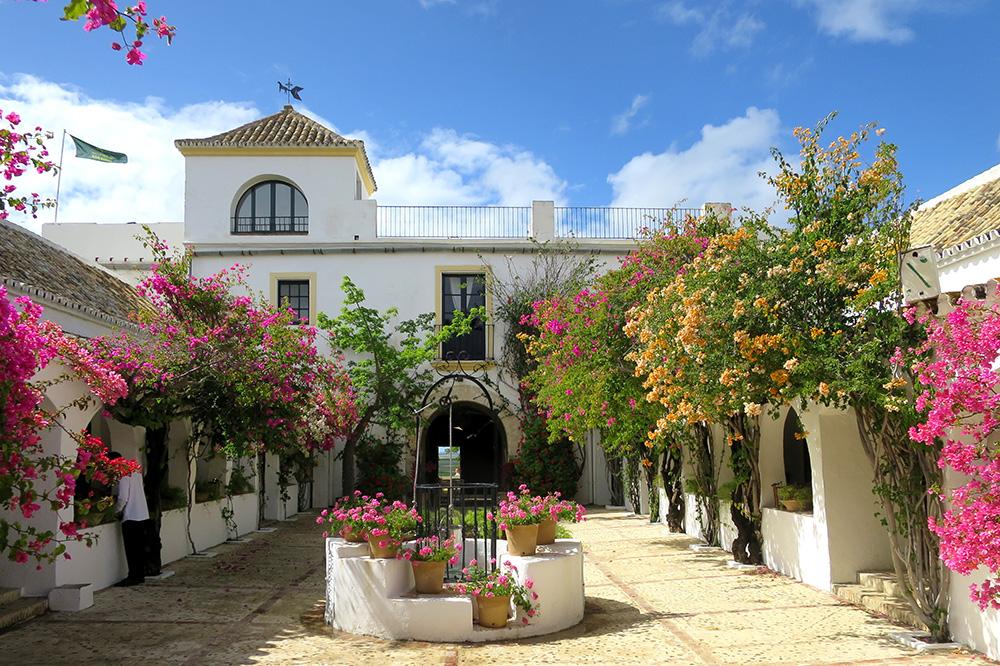 The exterior of Hacienda de San Rafael
