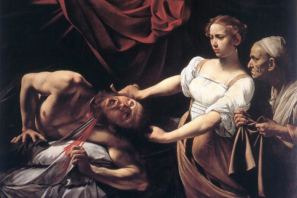 """Judith Beheading Holofernes"" by Caravaggio - Public Domain/Wikimedia Commons"