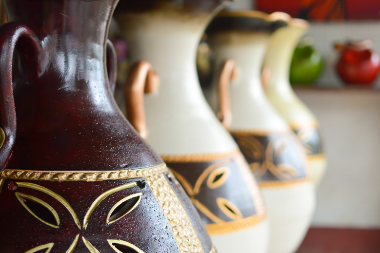 Ceramic handycrafts in the shops near Masaya, Nicaragua - iStock/Thinkstock - lanabyko