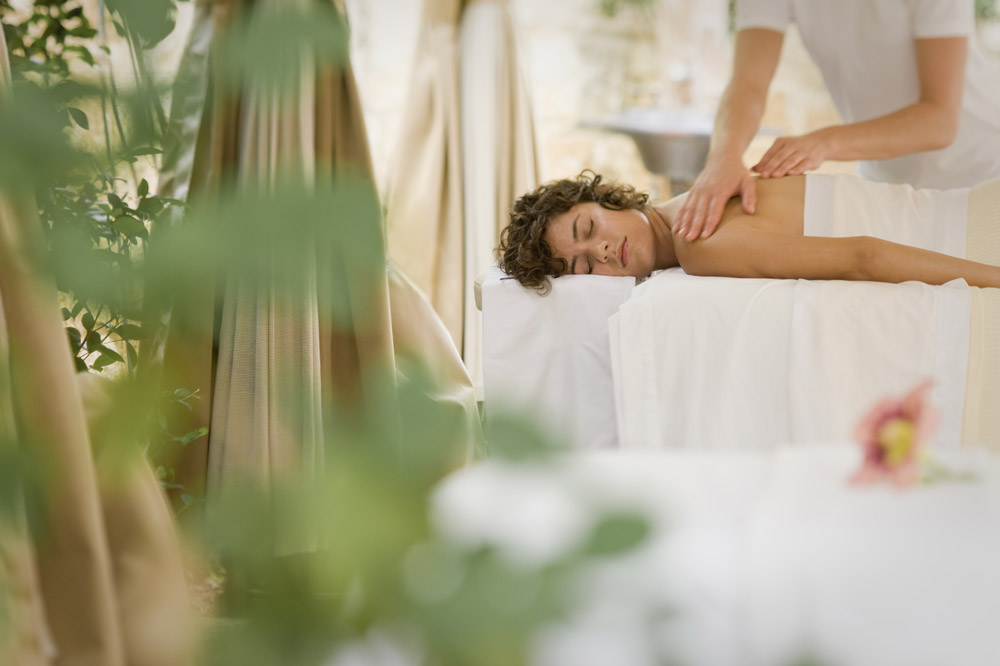 Swedish massage treatment at Lake Austin Spa Resort