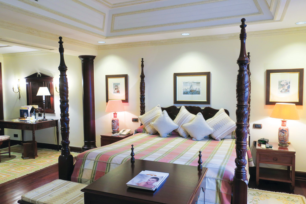 Palace Superior room at Lapa Palace, Lisbon, Portugal - Photo by Hideaway Report editor