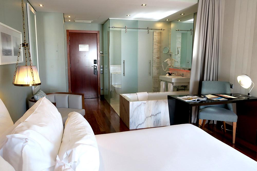 Our Deluxe Room at Pousada de Lisboa