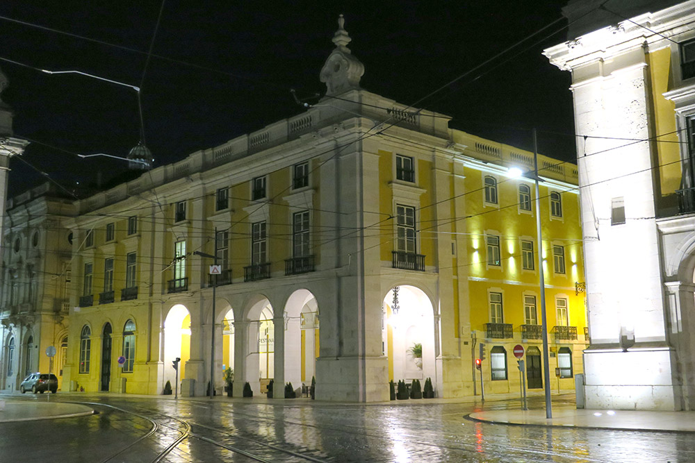 Exterior of Pousada de Lisboa