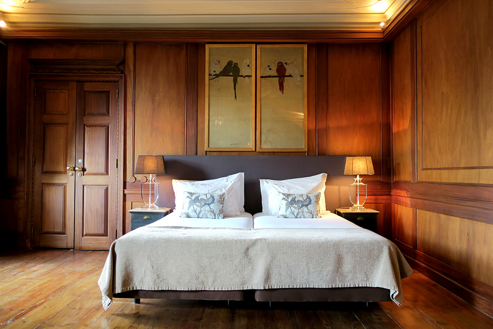 The Oak Suite of Palácio Ramalhete, Lisbon, Portugal - Photo by Hideaway Report editor