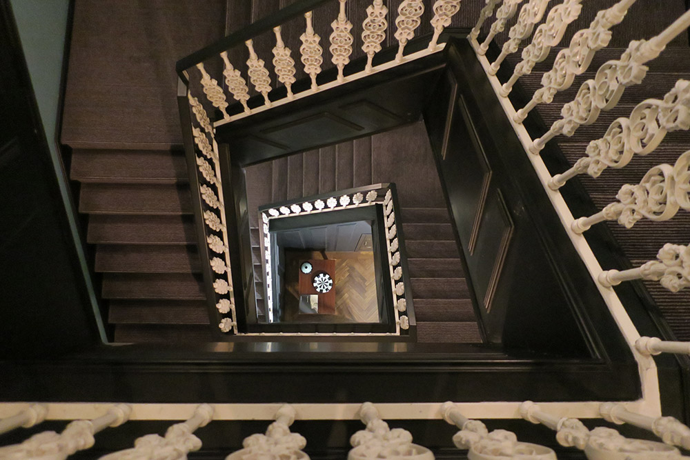 Staircase in Valverde Hotel