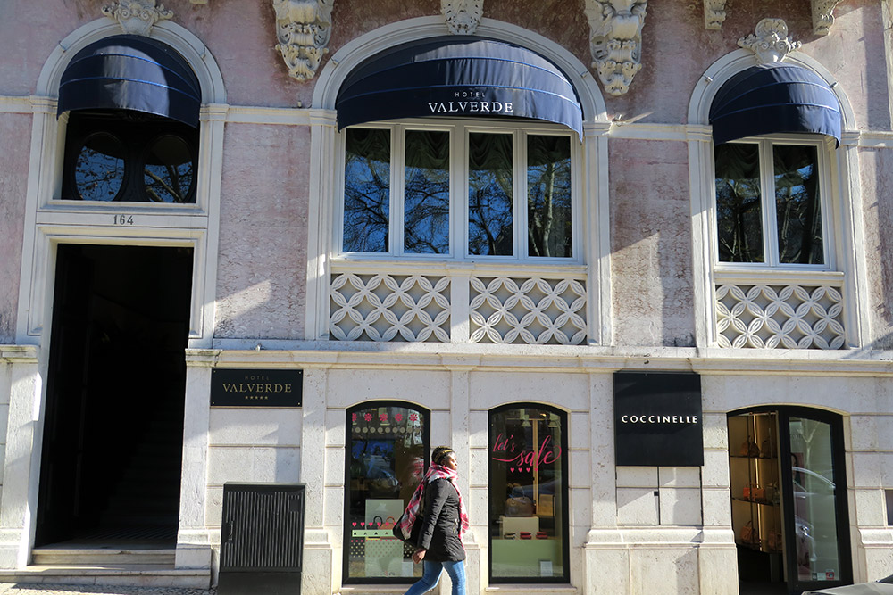 Exterior of the Valverde Hotel