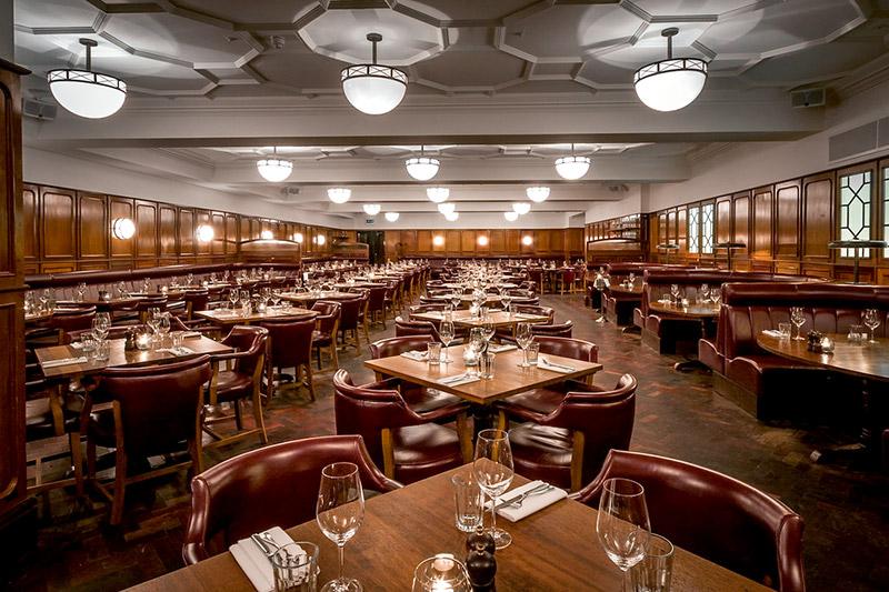 Dining room at <em>Hawksmoor Guildhall</em>