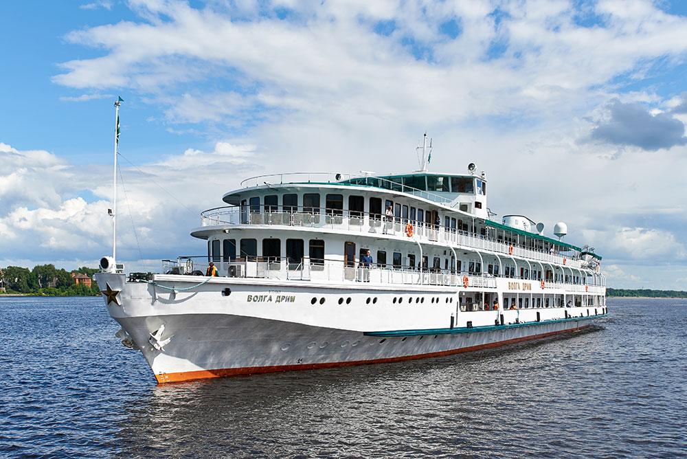 The <em>MS Volga Dream</em> in Russia