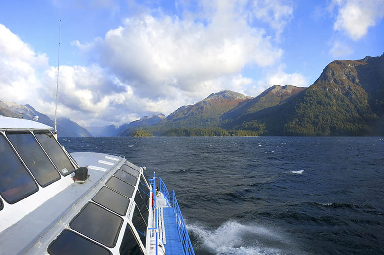 Sightseeing: Cruising Lake Nahuel Huapi