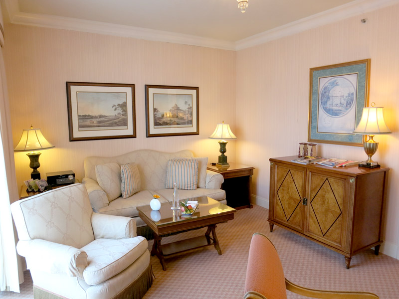 Our Executive Suite at the Regent - Photo by Hideaway Report editor