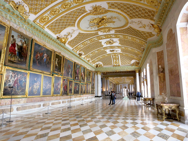 The Picture Gallery contains some of Frederick the Great's paintings - Photo by Hideaway Report editor