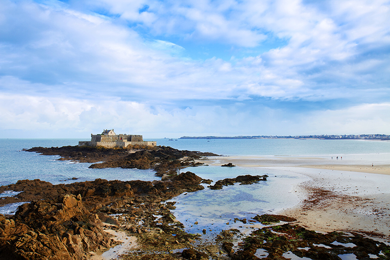 Fort National off the coast of Saint-Malo - © Neirfy/iStock/Thinkstock