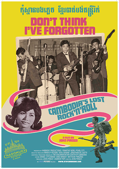 """Don't Think I've Forgotten: Cambodia's Lost Rock and Roll, "" a documentary film by John Pirozzi - Courtesy of Argot Pictures"