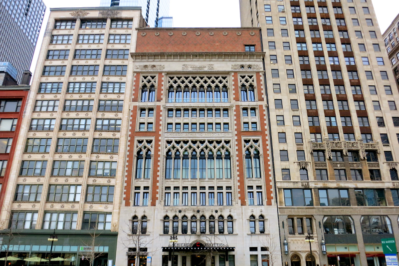The Chicago Athletic Association Hotel - Photo by Hideaway Report editor