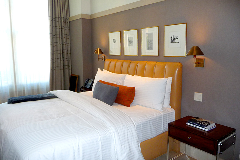 Our Deluxe Room at The Battery - Photo by Hideaway Report editor