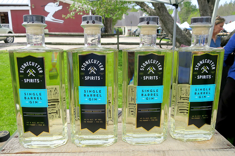 Stonecutter Spirits' Single Barrel Gin - Photo by Hideaway Report editor