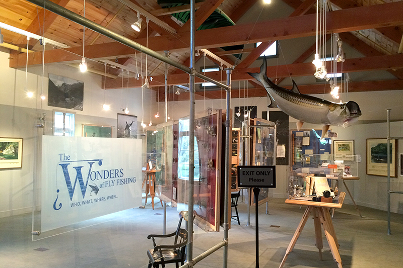 <em>The Wonders of Fly Fishing</em> exhibit at the American Museum of Fly Fishing
