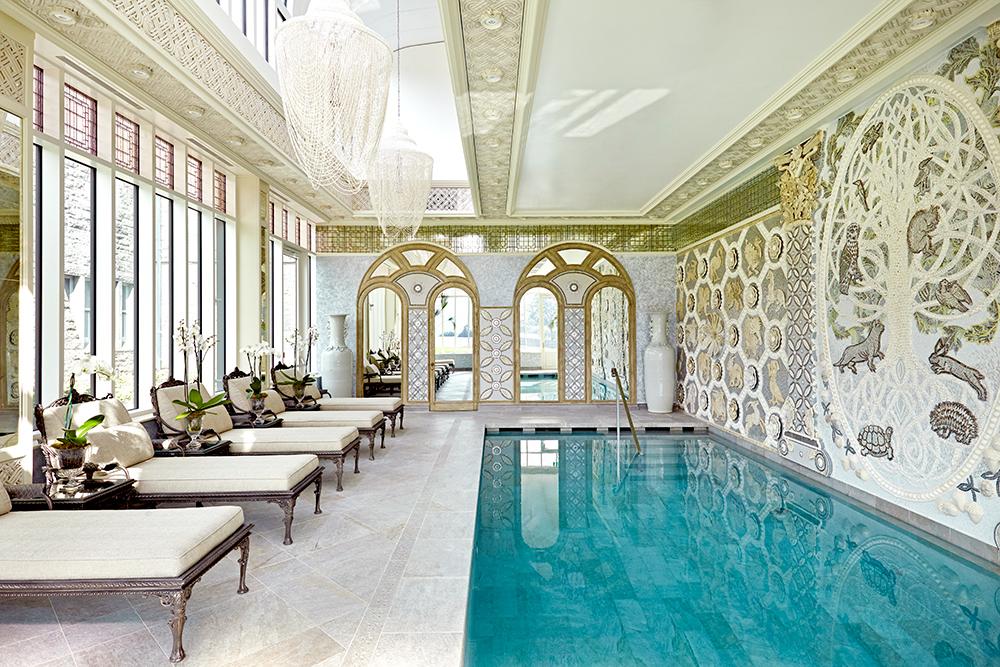 New indoor resistance pool at Ashford Castle in Ireland