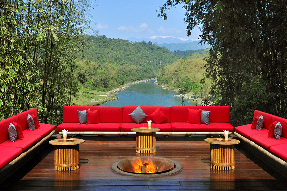 View from Malikha Lodge in Myannmar