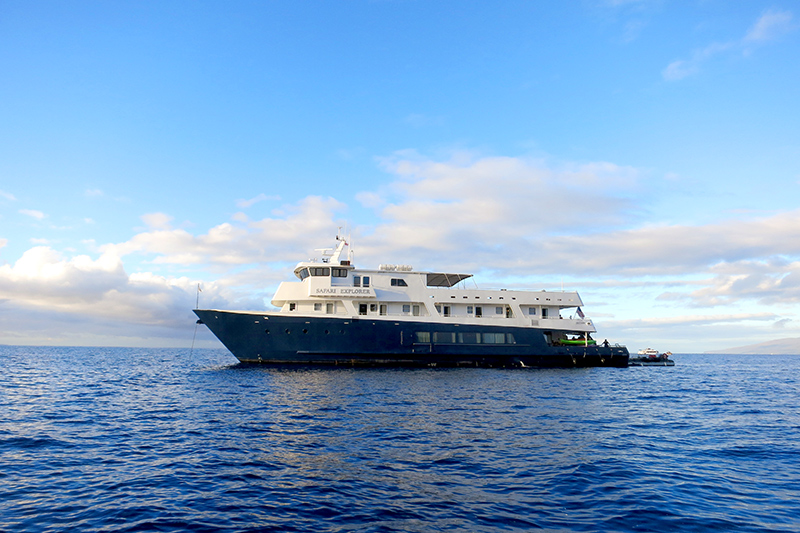 Un-Cruise's 36-passenger Safari Explorer - Photo by Hideaway Report editor