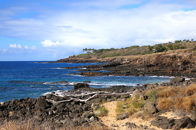 View from our hike along the coast near the Four Seasons Manele Bay, Lanai - Photo by Hideaway Report editor