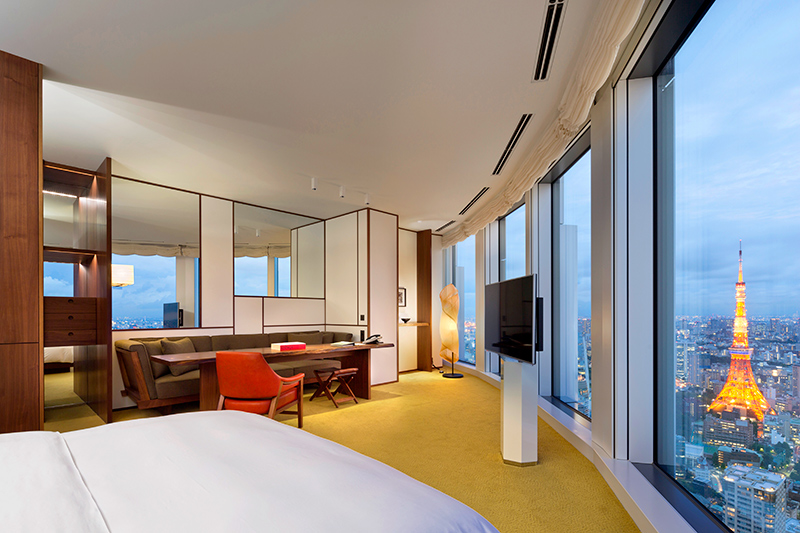 Large Tower King room at Andaz Tokyo Toranomon Hills