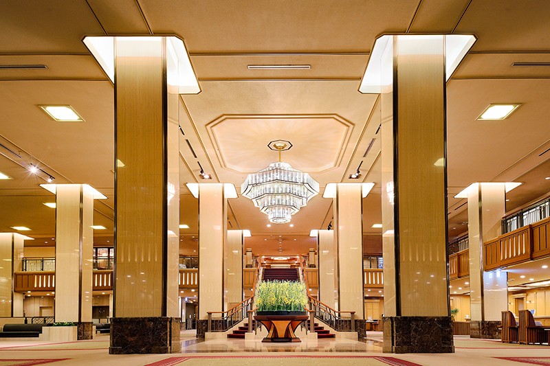 Lobby at the Imperial Hotel Tokyo
