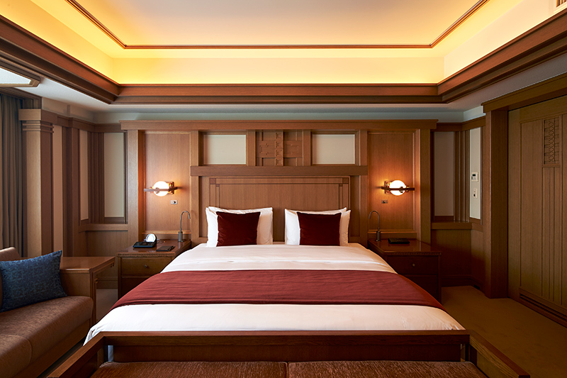 Frank Lloyd Wright suite at the Imperial Hotel Tokyo