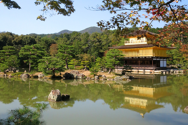 Kinkaku-ji (the Temple of the Golden Pavilion) is one of 17 UNESCO World Heritage sites in Kyoto - Photo by Hideaway Report editor